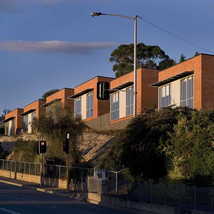 Balamara Street Housing, Bellerive, Tasmania